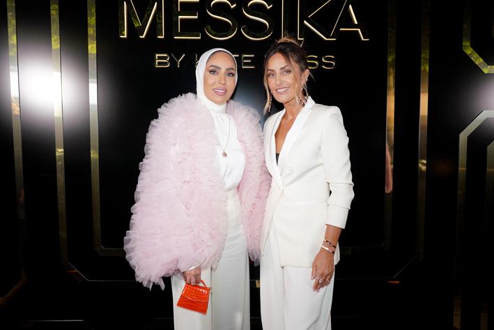 Fatima Alawa e Valérie Messika