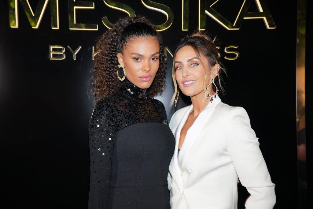 Tina Kunakey e Valérie Messika